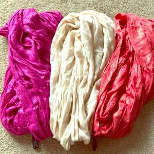 Three express Infinity Scarves